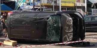 Accident, la ieșire din Alexandria. O persoană a ajuns la spital